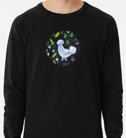 Glam Huhn Leichter Pullover