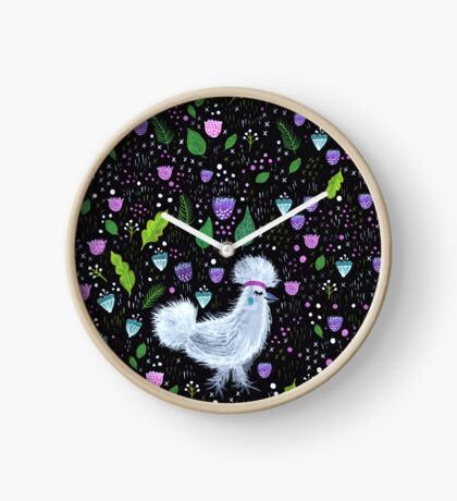 Glam Huhn Uhr