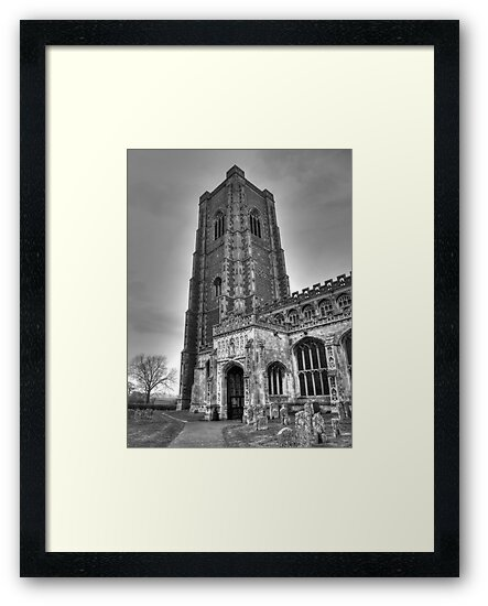 Church in B&W by Vicki Spindler (VHS Photography)