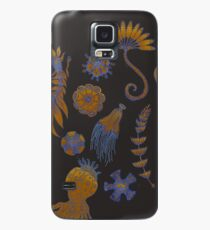Sea Ballet in Psychedelic Colors, more apologies to Ernst Haeckel Case/Skin for Samsung Galaxy