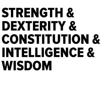 D&D Characteristics by nerdking