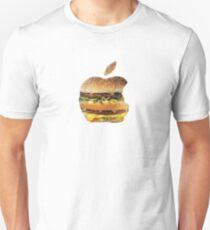 apple comedy burger Unisex T-Shirt