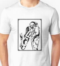Mermaid + Deep Sea Diver Kiss Unisex T-Shirt