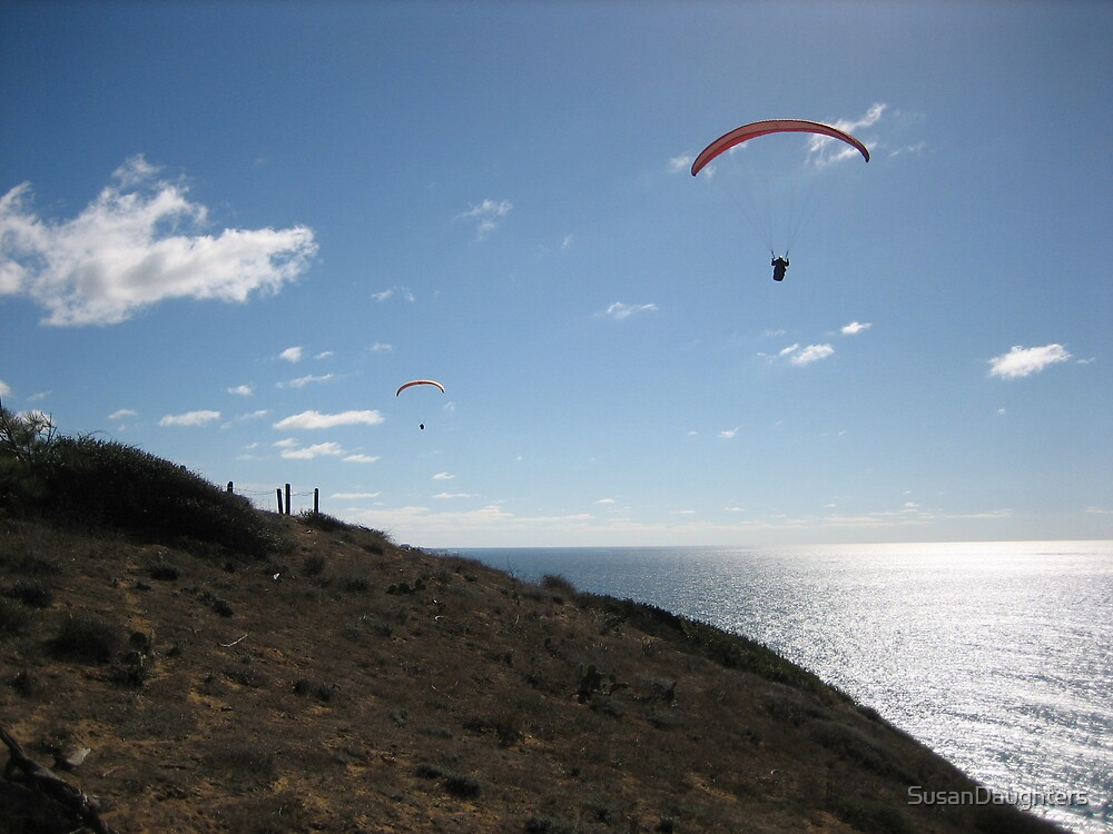 Paraglider by SusanDaughters
