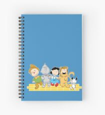 The Peanuts of Oz Spiral Notebook