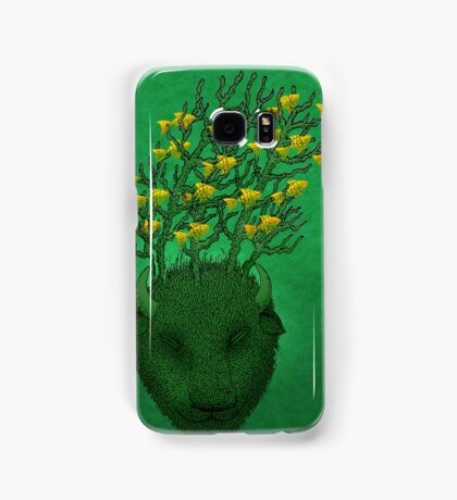 Sea Buffalo Dreaming Green Heart  Samsung Galaxy Case/Skin