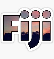 Fiji Sticker