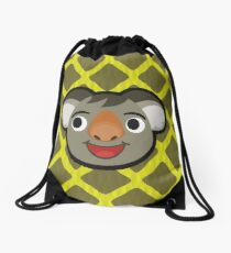 OZZIE ANIMAL CROSSING Drawstring Bag