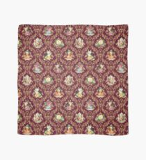 Teatime - Cats, Tea and Books Damask Scarf