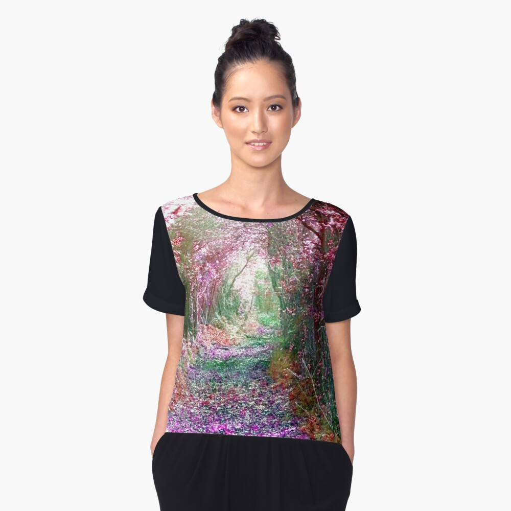 Secret Garden Women's Chiffon Top Front