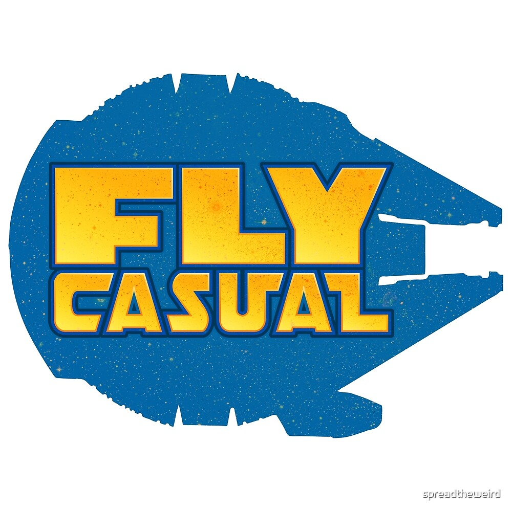 Fly Casual by spreadtheweird