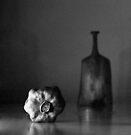 Stillleben mit trockenem Granatapfel von Marianna Tankelevich