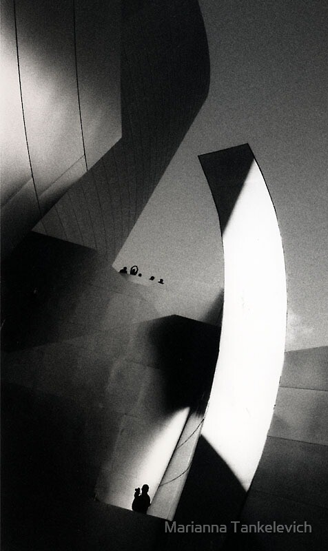 Disney Hall, Los Angeles by Marianna Tankelevich