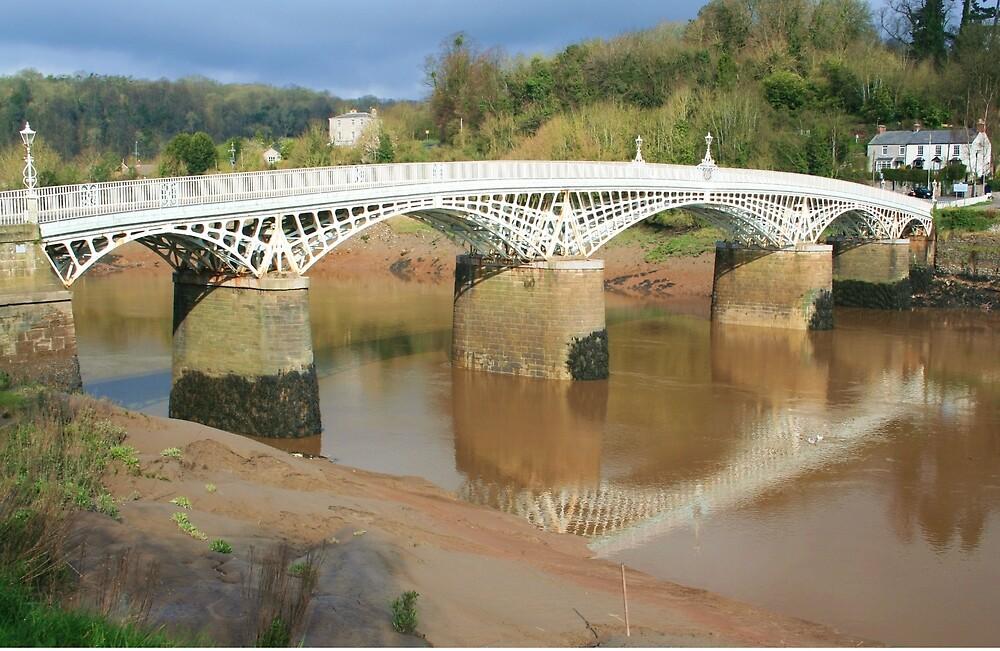 Bridge over the River Wye by RedHillDigital