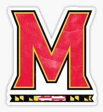 University of Maryland - Style 5 Sticker