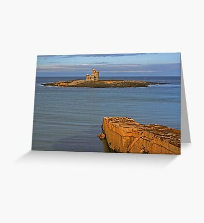 Tower Of Refuge Greeting Card
