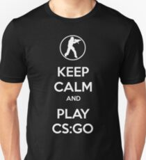 Keep Calm And Play CS:GO T-Shirt