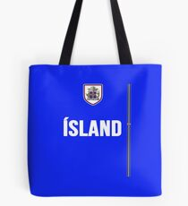 Iceland National Team Jersey Design - Island Team Wear Tote Bag