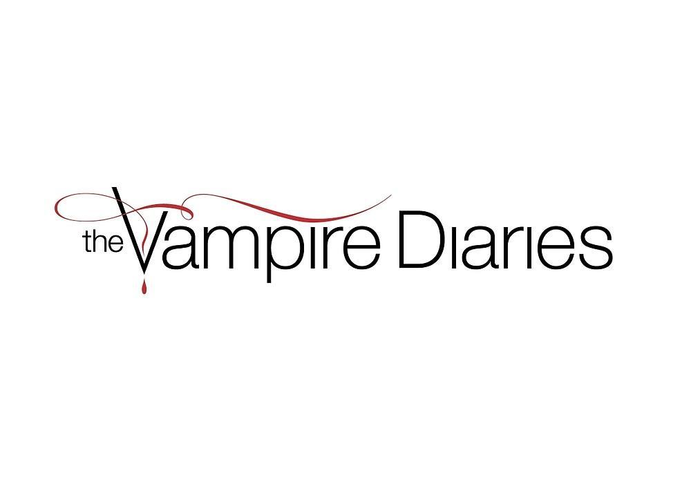 The Vampire Diaries logo by FleurM