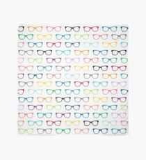 Hipster Glasses Geek Pattern Scarf