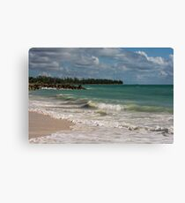 Feel the beach Canvas Print