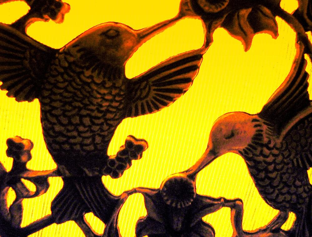 Sun Birds by Katewah