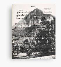 Wave Rio de Janeiro Canvas Print