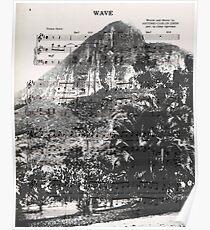 Wave Rio de Janeiro Poster