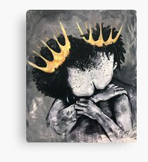 Naturally Royalty Canvas Print