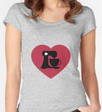 I Love Baking TShirt Women's Fitted Scoop T-Shirt