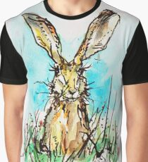 Spring Hare / cute bunny Graphic T-Shirt