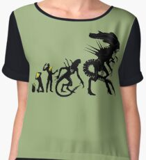 Alien Evolution Women's Chiffon Top