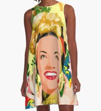 CARMEN MIRANDA A-Line Dress