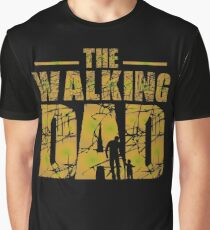 The Walking Dad - Zombie Fathers Gift Graphic T-Shirt