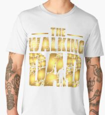 The Walking Dad - Father's Gift Men's Premium T-Shirt