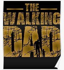 The Walking Dad - Father's Gift Poster