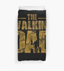 The Walking Dad - Father's Gift Duvet Cover