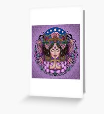 Sacred Spirit - Boho Goddess Greeting Card