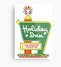HOLIDAY INN 2 Metal Print