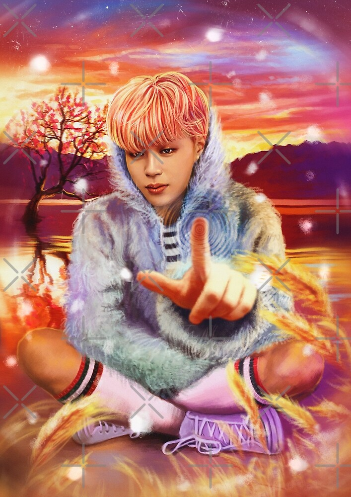 Quot Jimin Spring Day Quot By Ellen Drawings Redbubble