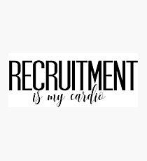 sorority recruitment Photographic Print