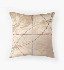 Earth Fire Water Air Throw Pillow