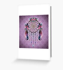 Dreamcatcher - Boho Style Greeting Card