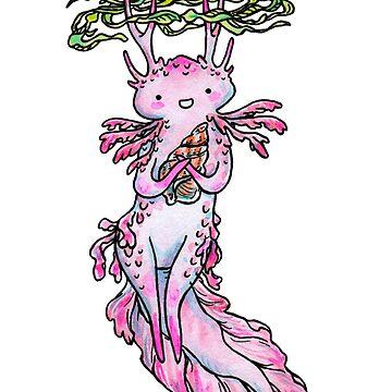 Axolotl Spriggan by HelloSpriggan