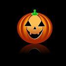 Halloween Pumpkin by Henrik Lehnerer