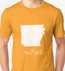 ASL (American Sign Language) Arkansas Tshirt Unisex T-Shirt