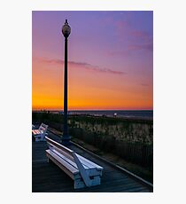 Evening at Rehoboth Beach Photographic Print