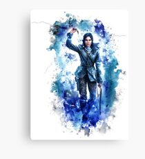 Tomb Raider Painting Canvas Print