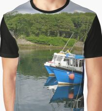 Fishing boats, Stornoway harbour Graphic T-Shirt