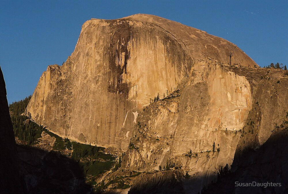 Half Dome at Sunset by SusanDaughters